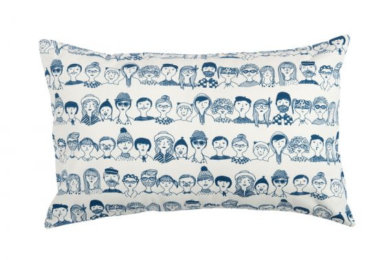 faces cushion