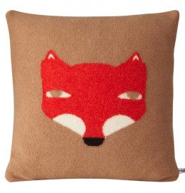 DONNA_WILSON_Fox Cushion Camel 40x40