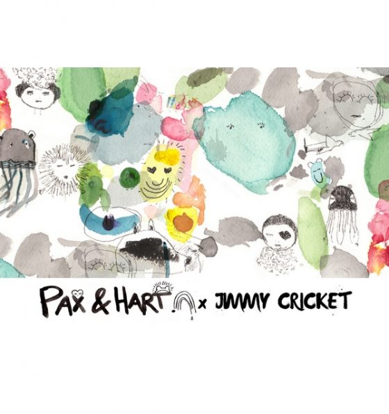 Kids wall decor bunny wallstickers Pax&Hart to Jimmy Cricket