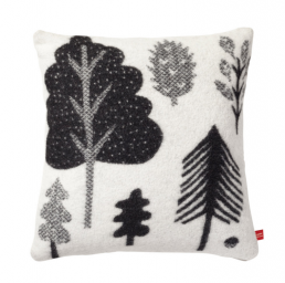 Forest_woven_cushion_blackwhite_DW