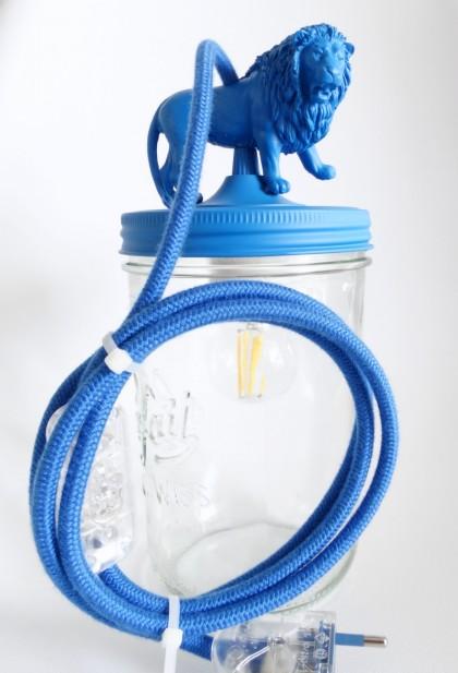 FourLion Blue Lamp