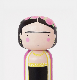 Toys for kids Frida by Sketchinc hand painted wood doll