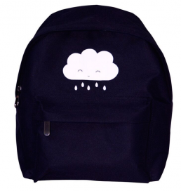 Backpack Cloud nursery black A Little Lovely Company