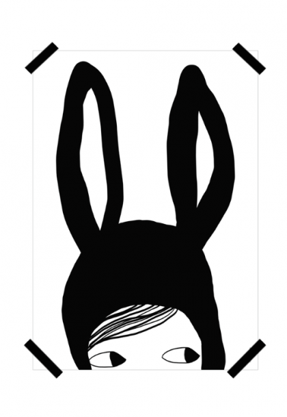 """Bunny P"" Poster"