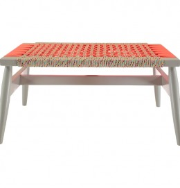 Kids furniture online red bench Fudje