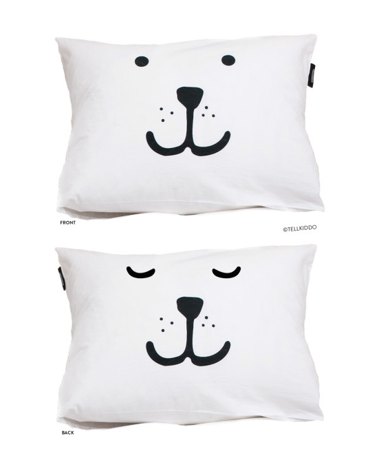 Telkiddo Pillow case for kids bedroom and children's decoration