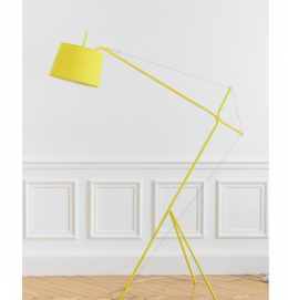 Childrens yellow lamp designer kids furniture Harto