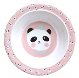 Plates for kids bowl Panda Bear by EefLillemor
