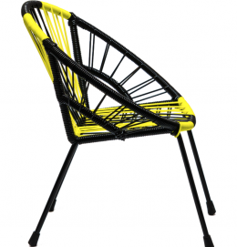 "Tica ""Neon Stripes"" Chair fashionable furniture The Rocking Company"