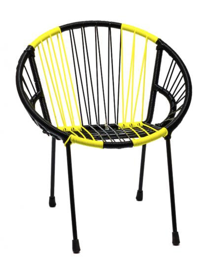 """Tica """"Neon Stripes"""" Chair"""