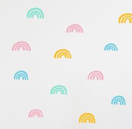Wall stickers for kids rainbows Moonwalk Teddybear