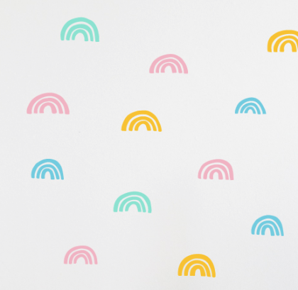 Rainbows wallstickers