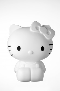 Kitty kids lamp white