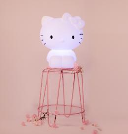 Kitty kids lamp white