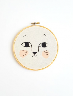 Wall art decoration for kids room Aro for Kids Cat