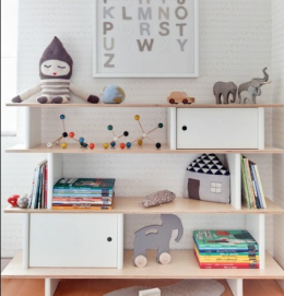 Kids furniture OEUF NYC decoration Book shelf