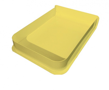 Caja A4 Charlie amarillo de Hartô