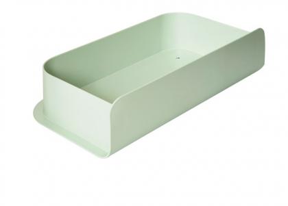 Letter box charlie pastel green Hartô