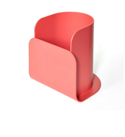 Pen holder Charlie, strawberry red Hartô