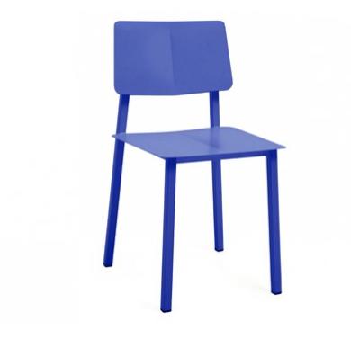 Silla Rosalie azul de Hartô