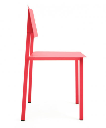Rosalie chair strawberry red by Hartô