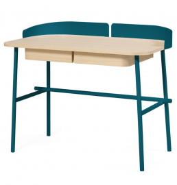 Kids furniture online Harto desk petrol blue