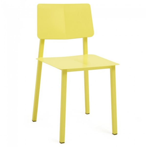 rosalie yellow chair by hart edition