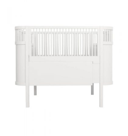 Sebra Crib evolutif White