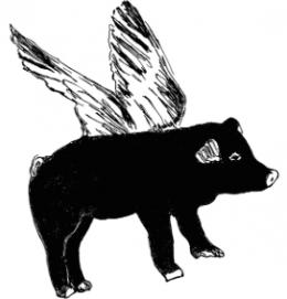 sianzeng_wallsticker_black_pig