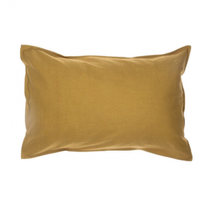 Pillow case mustard 75×50