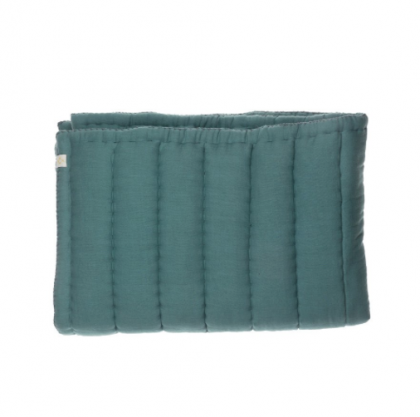 Hand Quilted blanket Teal