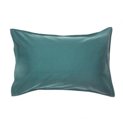Pillow case teal 75×50