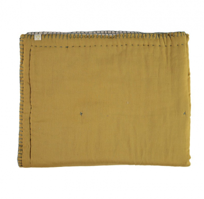 Cotton Filled Reversible quilts mustard