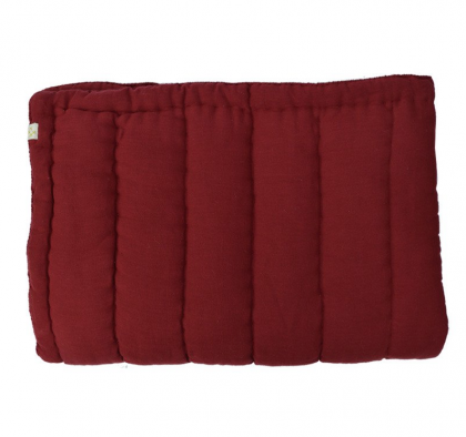 Hand Quilted blanket Wine