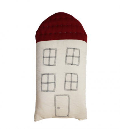 Tall House Cushion wine