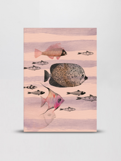 Notebook Deep Sea Pink Mini Empire