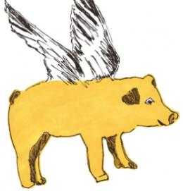 sianzeng_walltiscker_pig_yellow