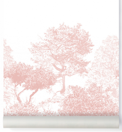 Hua Tree Wallpaper Pink