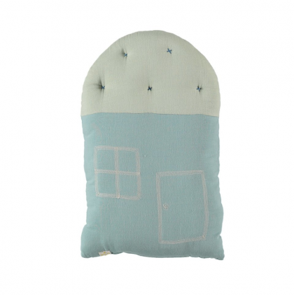 Camomile House Cushion mint