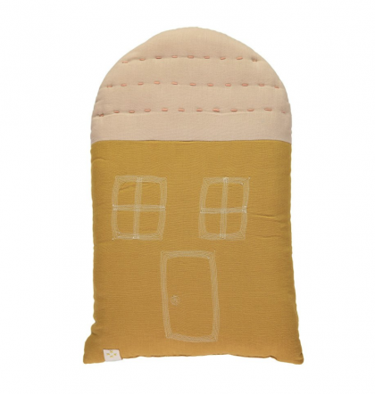 Ochre Padded House Cushion midi