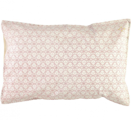 Dash Star Pink Pillow case 75×50