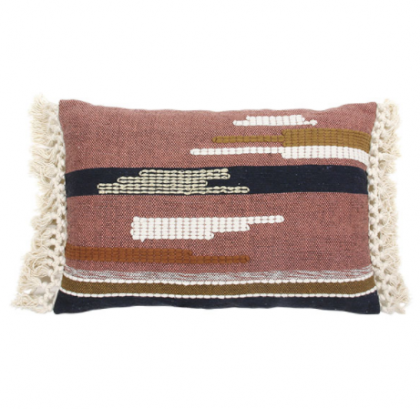 Cushion aztec multicolor with tassels 40×60