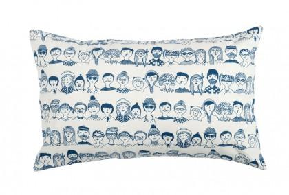 Faces cushion