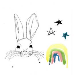Kids wall decor bunny wallstickers Pax&Hart to Jimmy Cricket