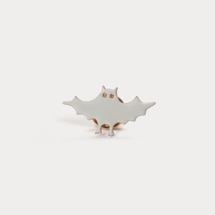 Faragut Bat pin