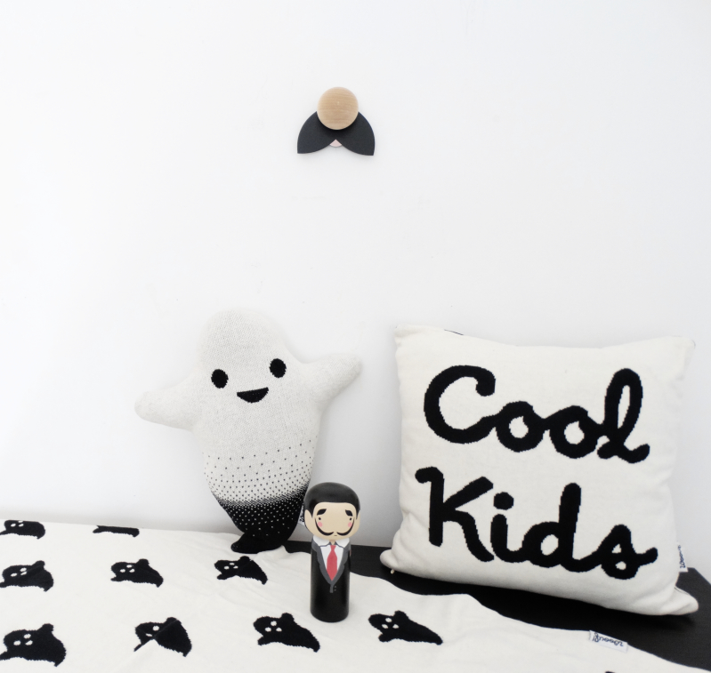 Children Bedding B&W Cool Kids Cushion for kids room Woouf