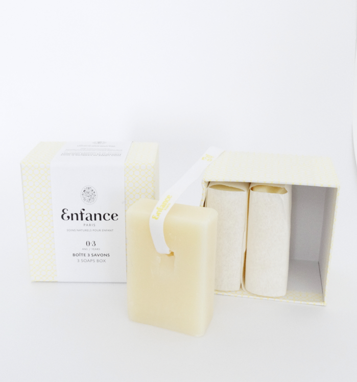 Organic soap for baby and kids care by Enfance Paris