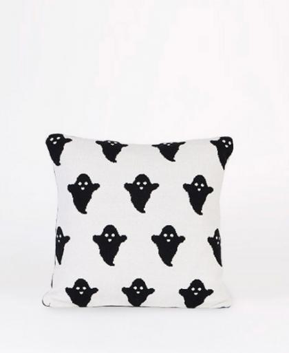 Black&White Ghosts cushion