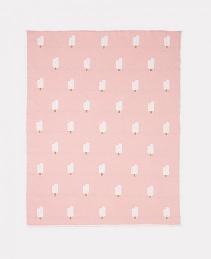 Pink Ice Cream Blanket