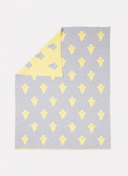 Yellow Ghosts blanket